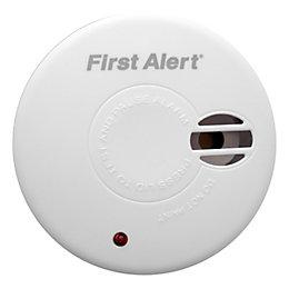 First Alert Ionisation Easy Hush Smoke Alarm