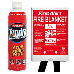 First Alert Fire Safety Pack 414ml