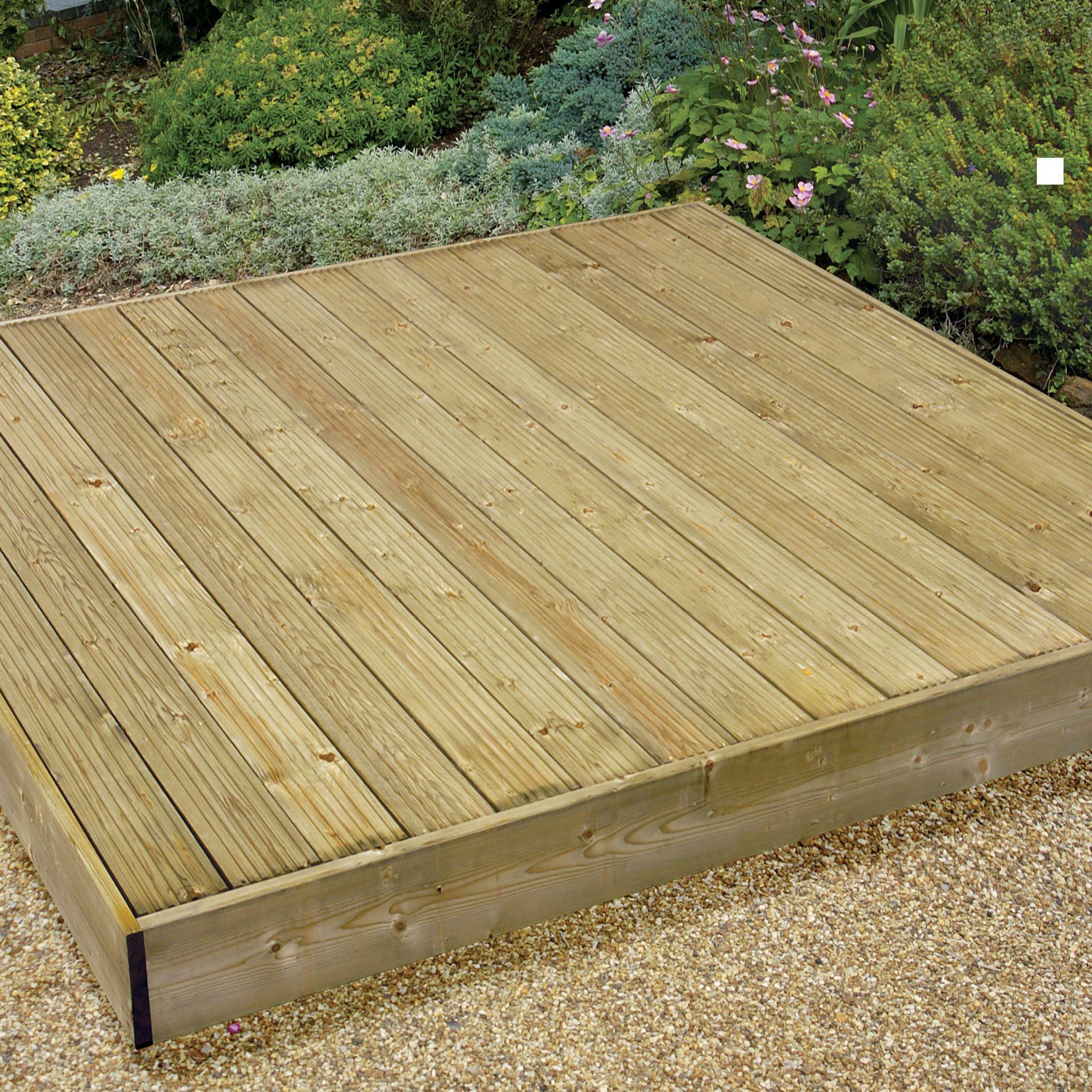 deck kits softwood deck kit departments diy at b q. Black Bedroom Furniture Sets. Home Design Ideas