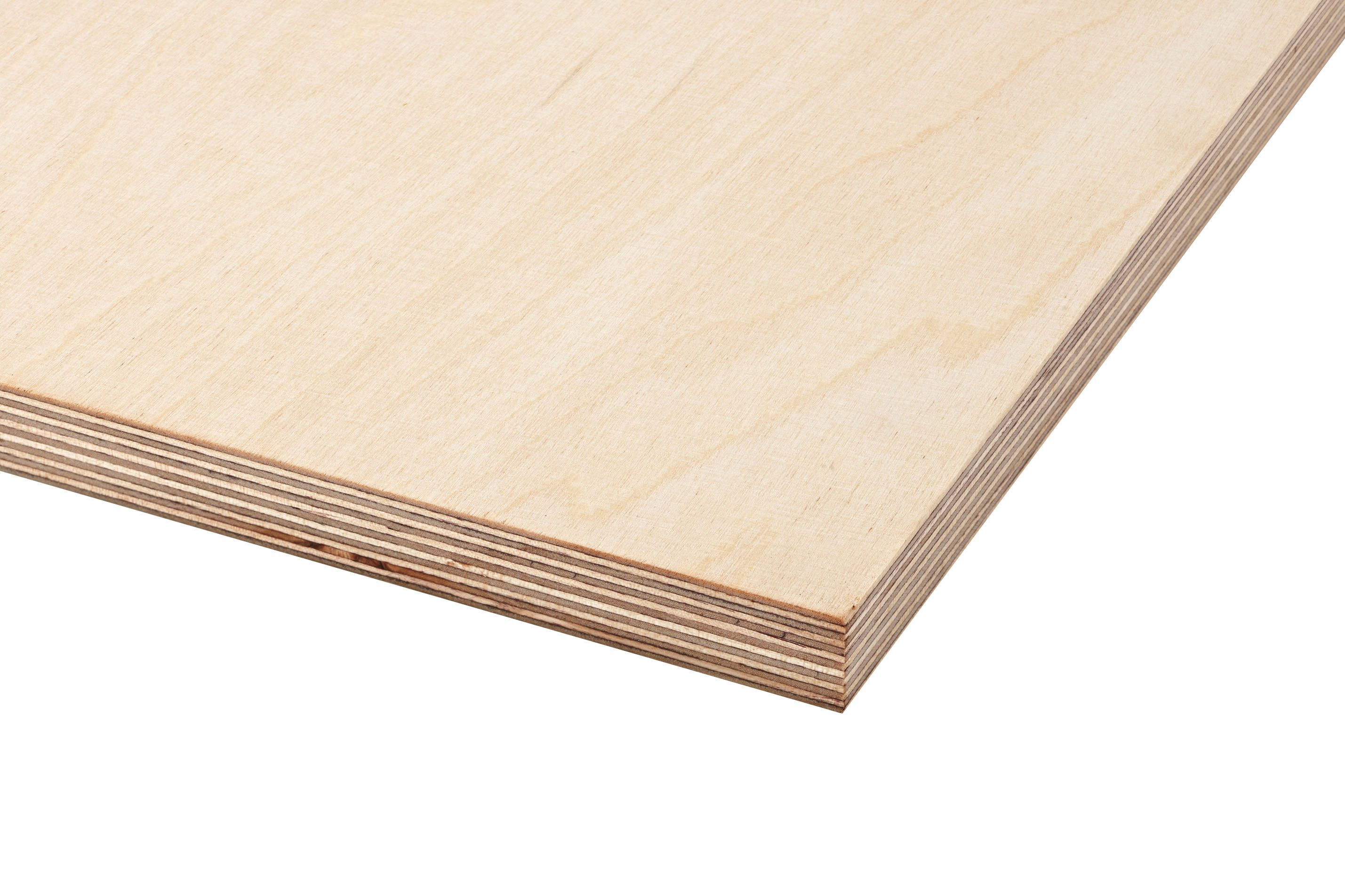 Birch Plywood Th 18mm W 1220mm L