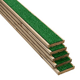 Grassedeck Softwood Deck Board (T)28mm (W)144mm (L)2100mm, Pack