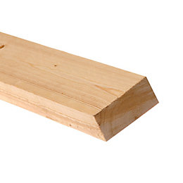 Rough Sawn Timber (T)47mm (W)100mm (L)2400mm Pack of