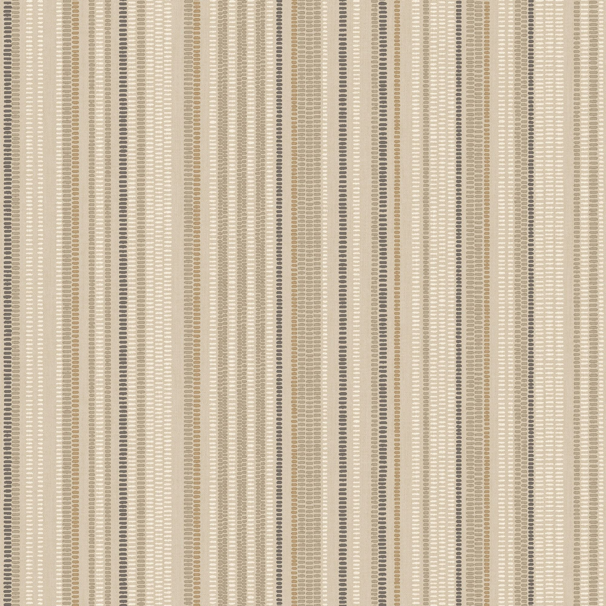 K2 Kasbah Beige Amp Brown Stripe Metallic Effect Wallpaper