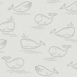 Holden Décor Grey Animals Matt Finish Wallpaper