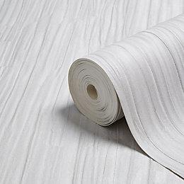 Opus Francesco Silver Textured Wallpaper
