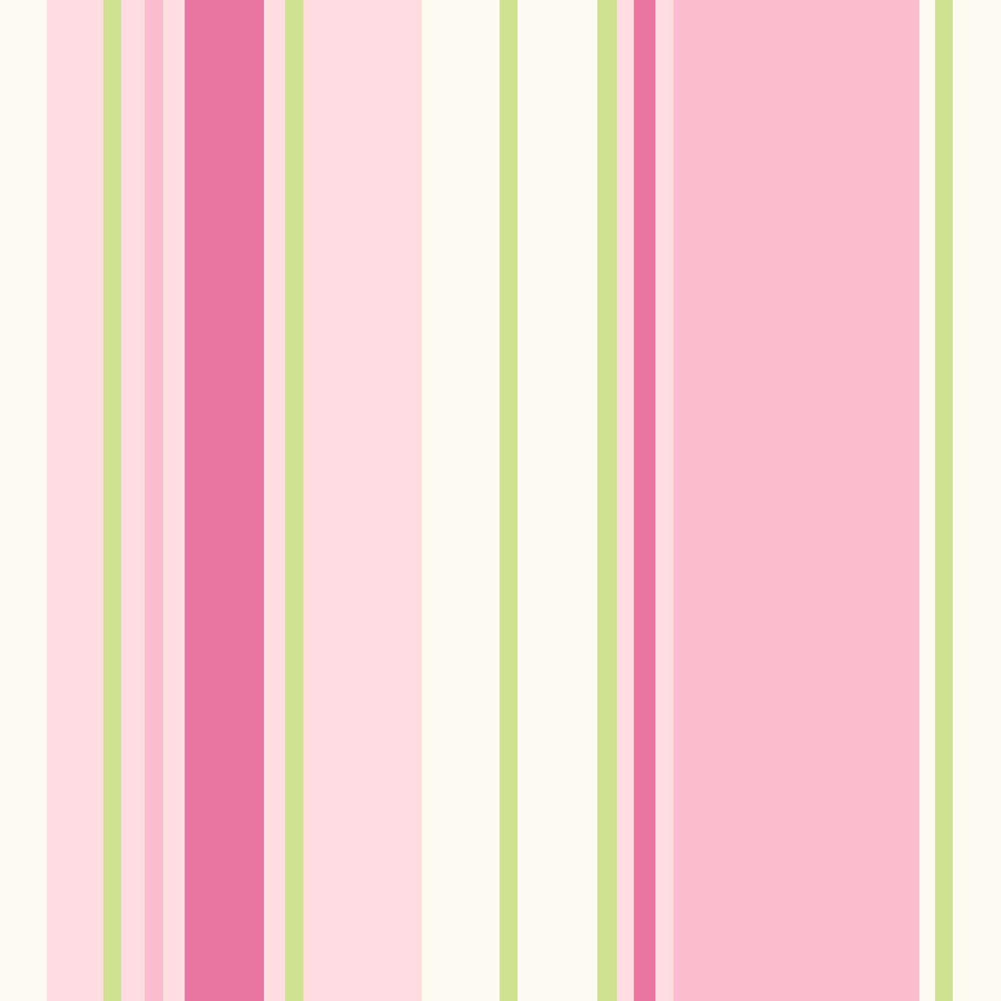 Holden Decor Paige Green Pink Striped Wallpaper
