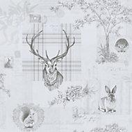 K2 Grey Animals Wallpaper