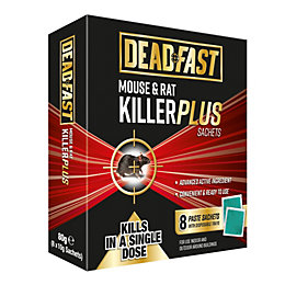Deadfast Plus Sachet Rodenticide 80g