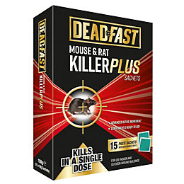 Deadfast Plus Sachet Rodenticide 150g