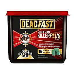 Deadfast Plus Block Rodenticide 300g