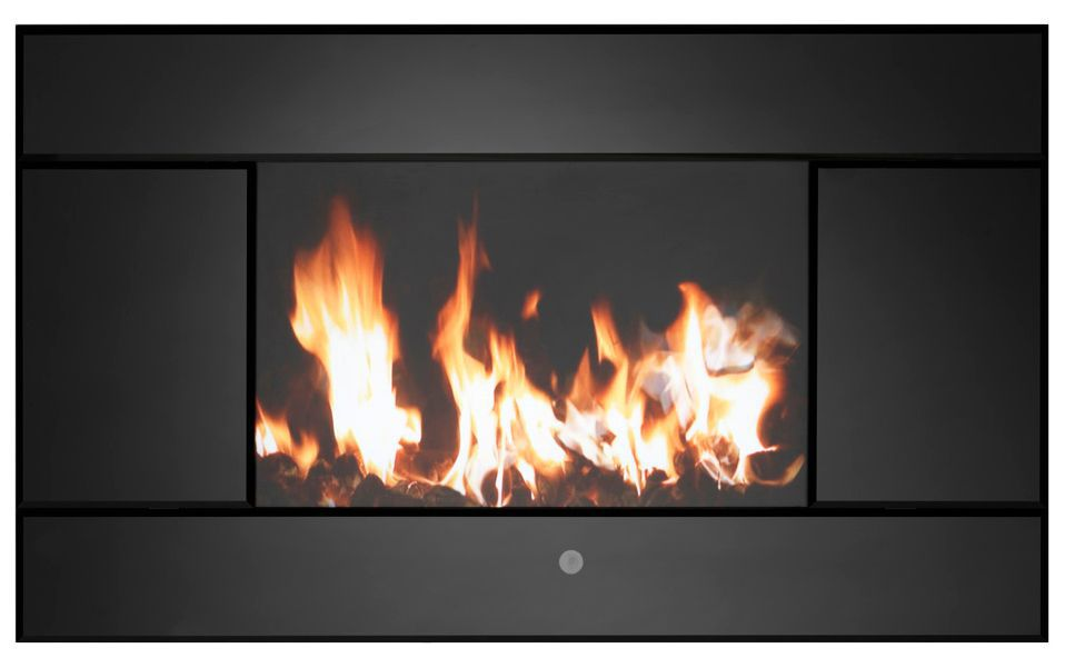 Focal Point Evoke Black Remote Control Electric Fire