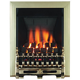 Focal Point Blenheim Multi Flue Brass Remote Control
