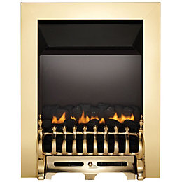 Focal Point Blenheim Brass Inset Gas fire