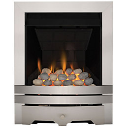 Focal Point Lulworth Multi Flue Brushed Stainless Steel