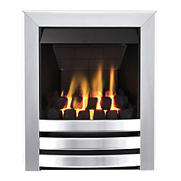 Focal Point Langham Multi Flue Chrome Remote Control