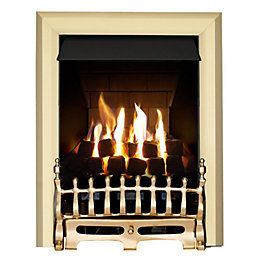 Focal Point Blenheim Multi Flue Brass Effect Slide
