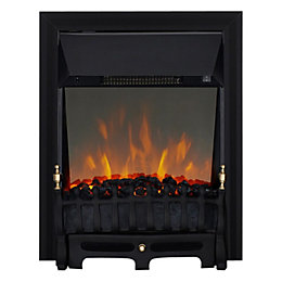 Focal Point Blenheim Black LED Reflections Electric Fire