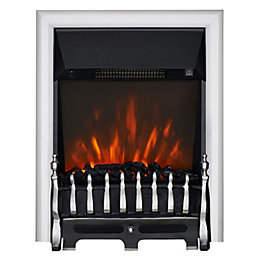 Focal Point Blenheim Chrome LED Electric Fire