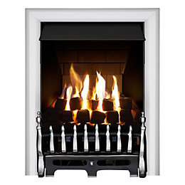 Focal Point Blenheim Multi Flue Chrome Remote Control