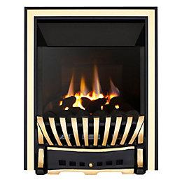 Focal Point Elegance High Efficiency Black & Brass