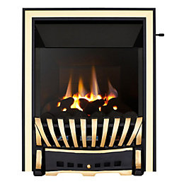 Focal Point Elegance High Efficiency Black & Brass