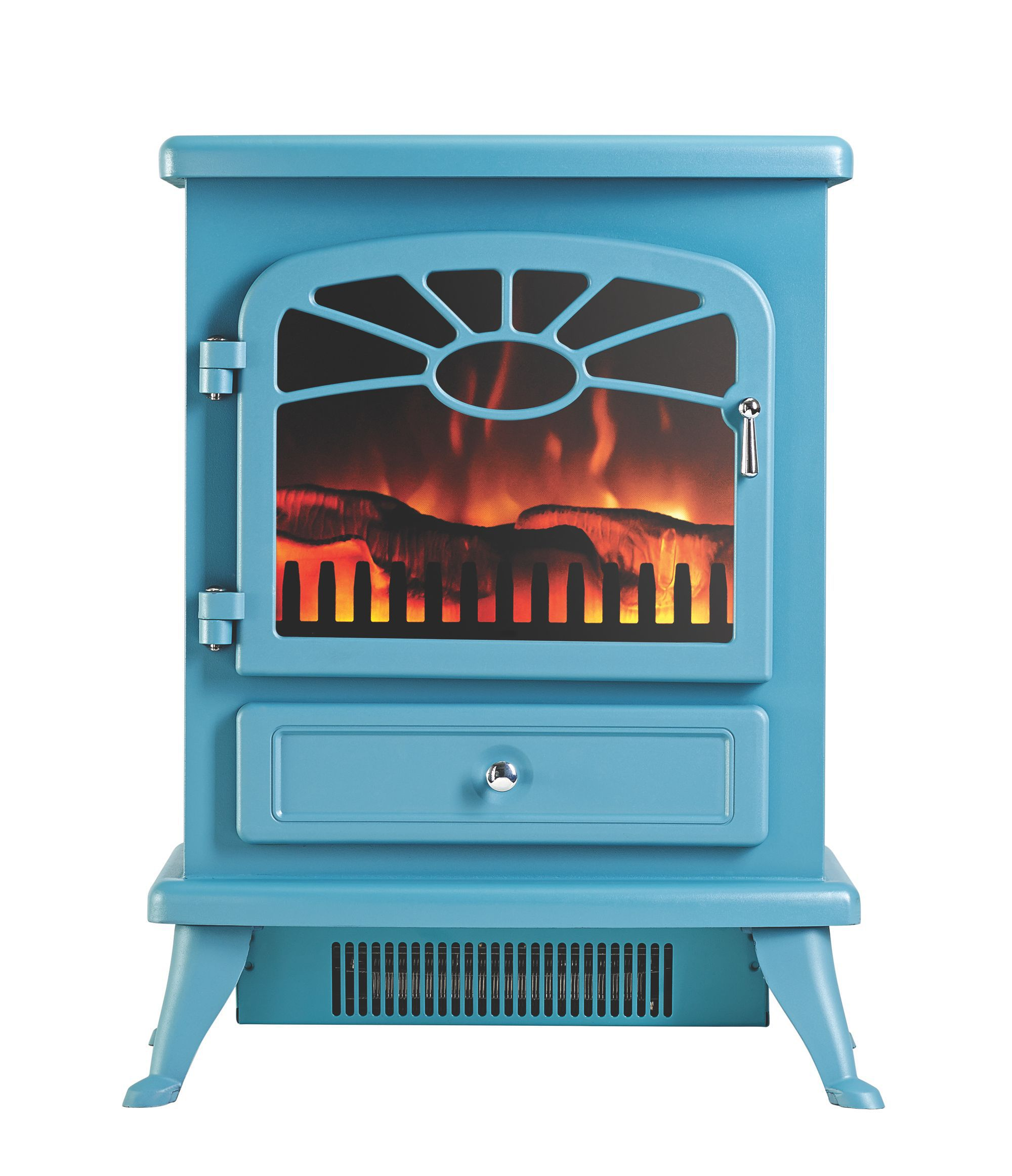Focal Point Es 2000 Blue Electric Stove Departments
