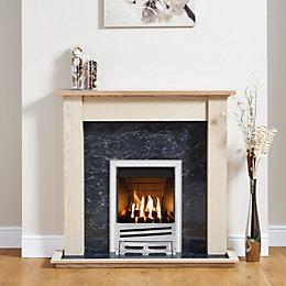 Focal Point Horizon Chrome Inset Gas Fire Suite