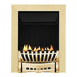 Focal Point Elegance Flue Less Brass Manual Control