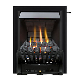 Focal Point Elegance Multi Flue Black Slide Control