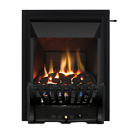 Focal Point Elegance Black Slide Control Inset Gas