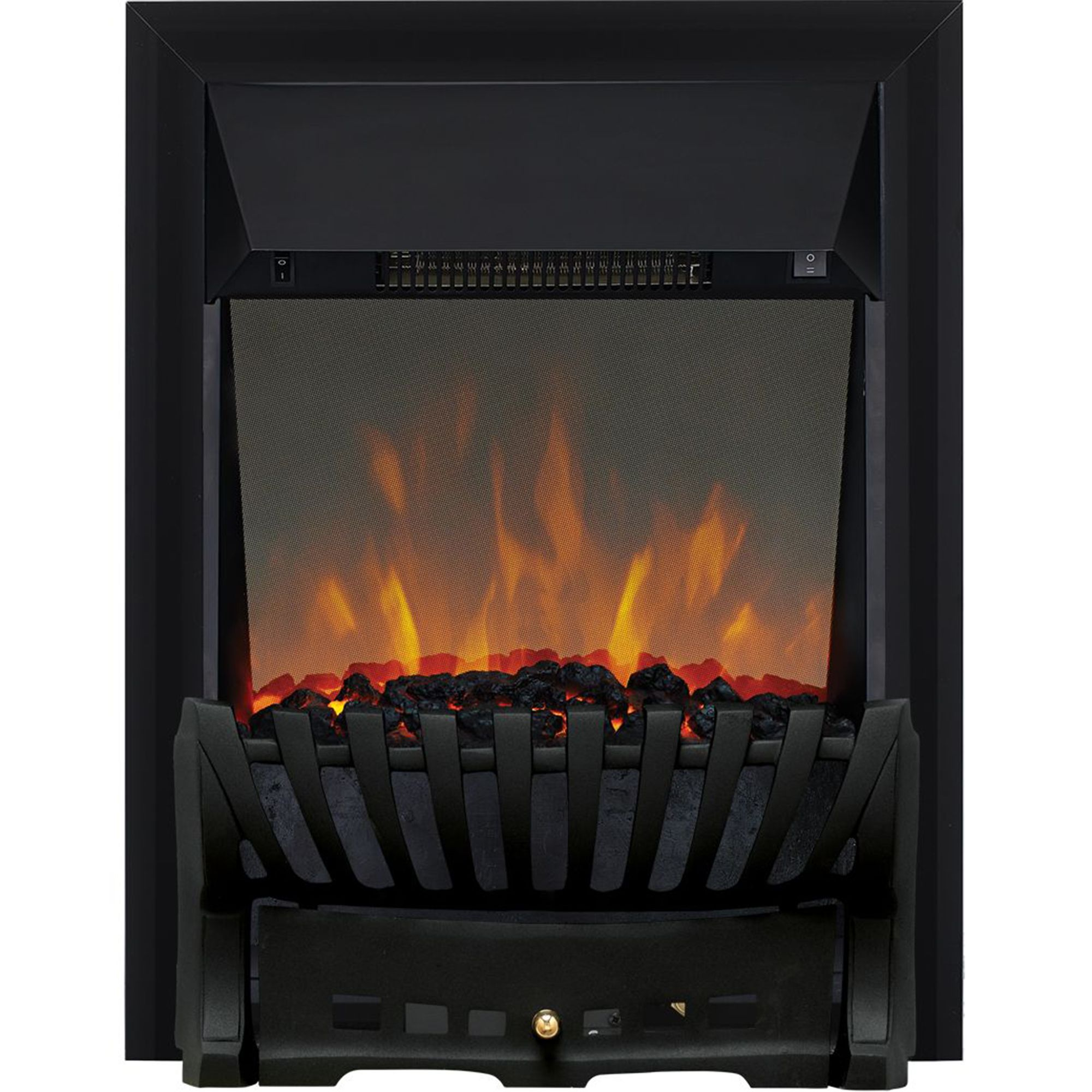 Focal Point Electric Fire: Focal Point Elegance Electric Fire