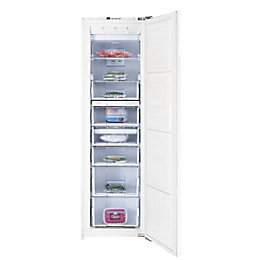 Beko BZ77F Tall White Integrated Freezer