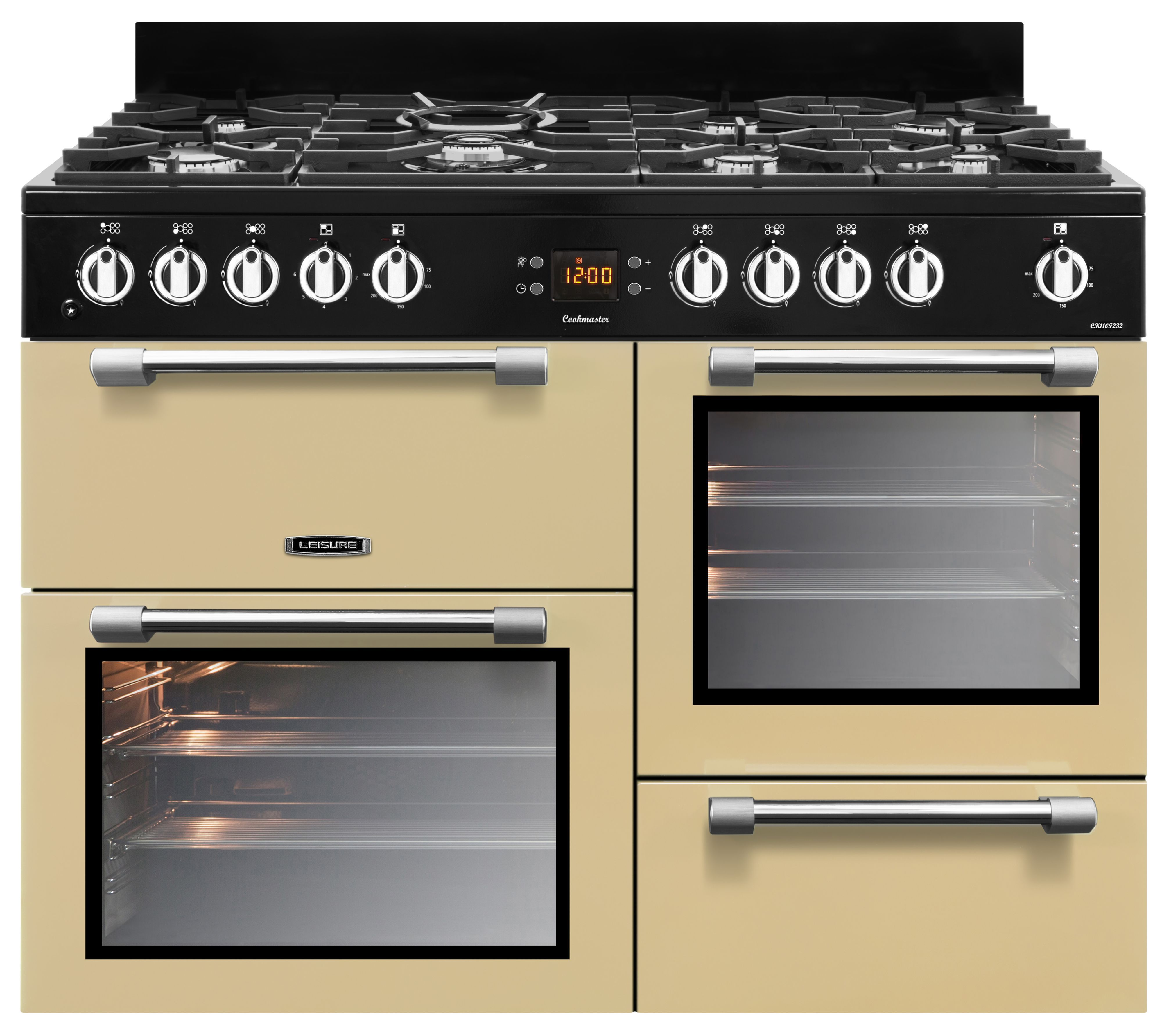 Leisure Freestanding Dual Fuel Range Cooker With Gas Hob
