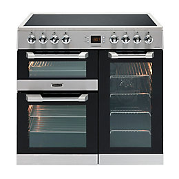 Leisure Freestanding Electric Range Cooker with Ceramic Hob,