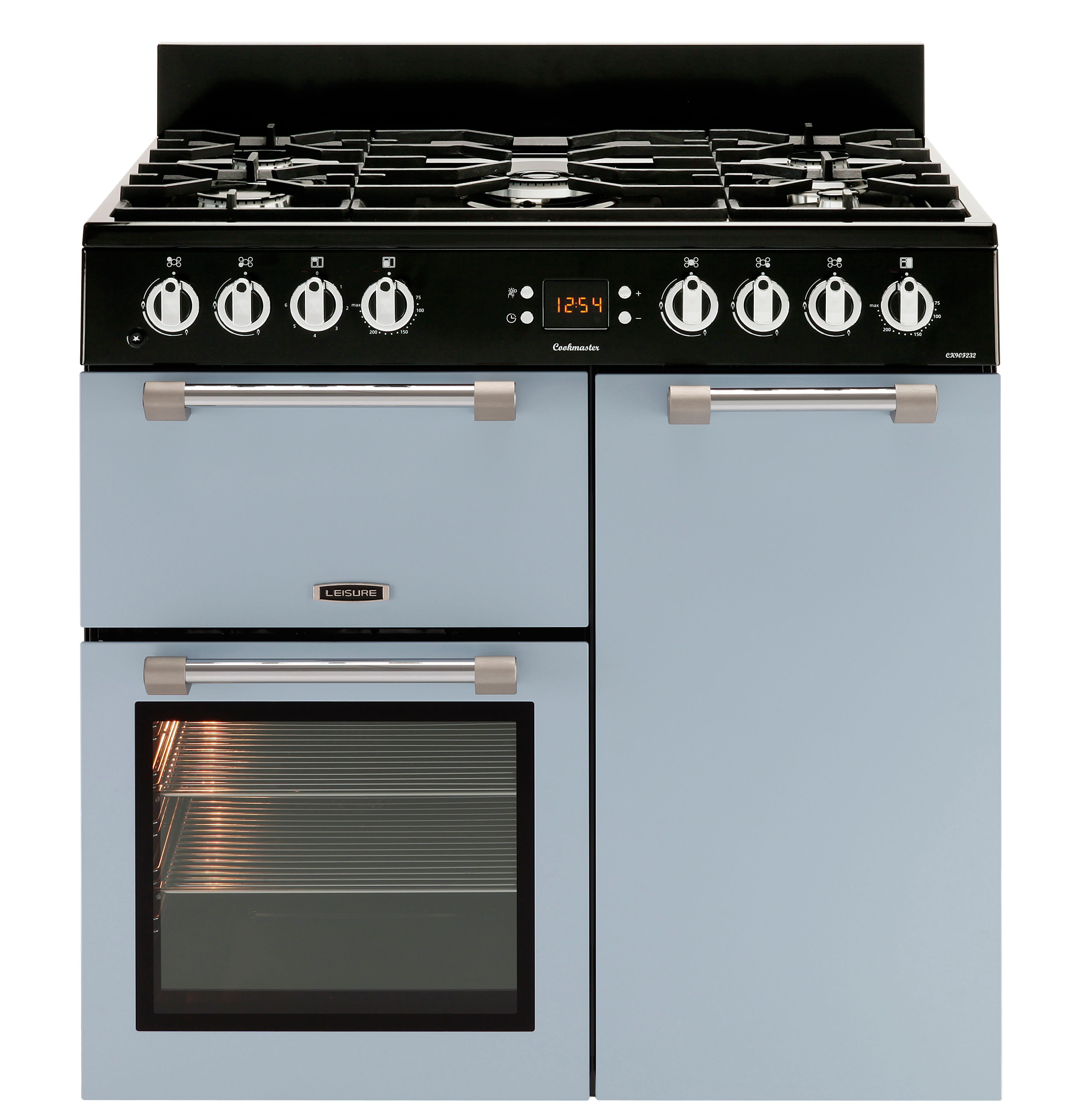 leisure freestanding dual fuel range cooker with gas hob. Black Bedroom Furniture Sets. Home Design Ideas