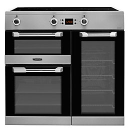 Leisure Freestanding Electric Range cooker with Induction hob,