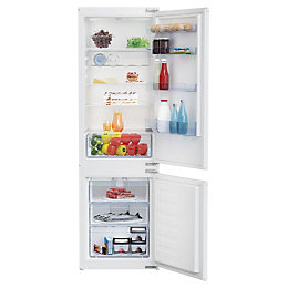 Beko BCSD173 70:30 White Integrated Combi fridge freezer
