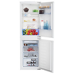 Beko BCB5050F 50: 50 Combi White Integrated Fridge
