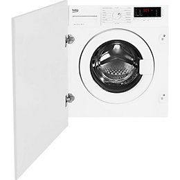 Beko WIY72545 White Built in Washing machine