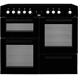 Beko Electric Cooker with Ceramic hob, KDVC100K