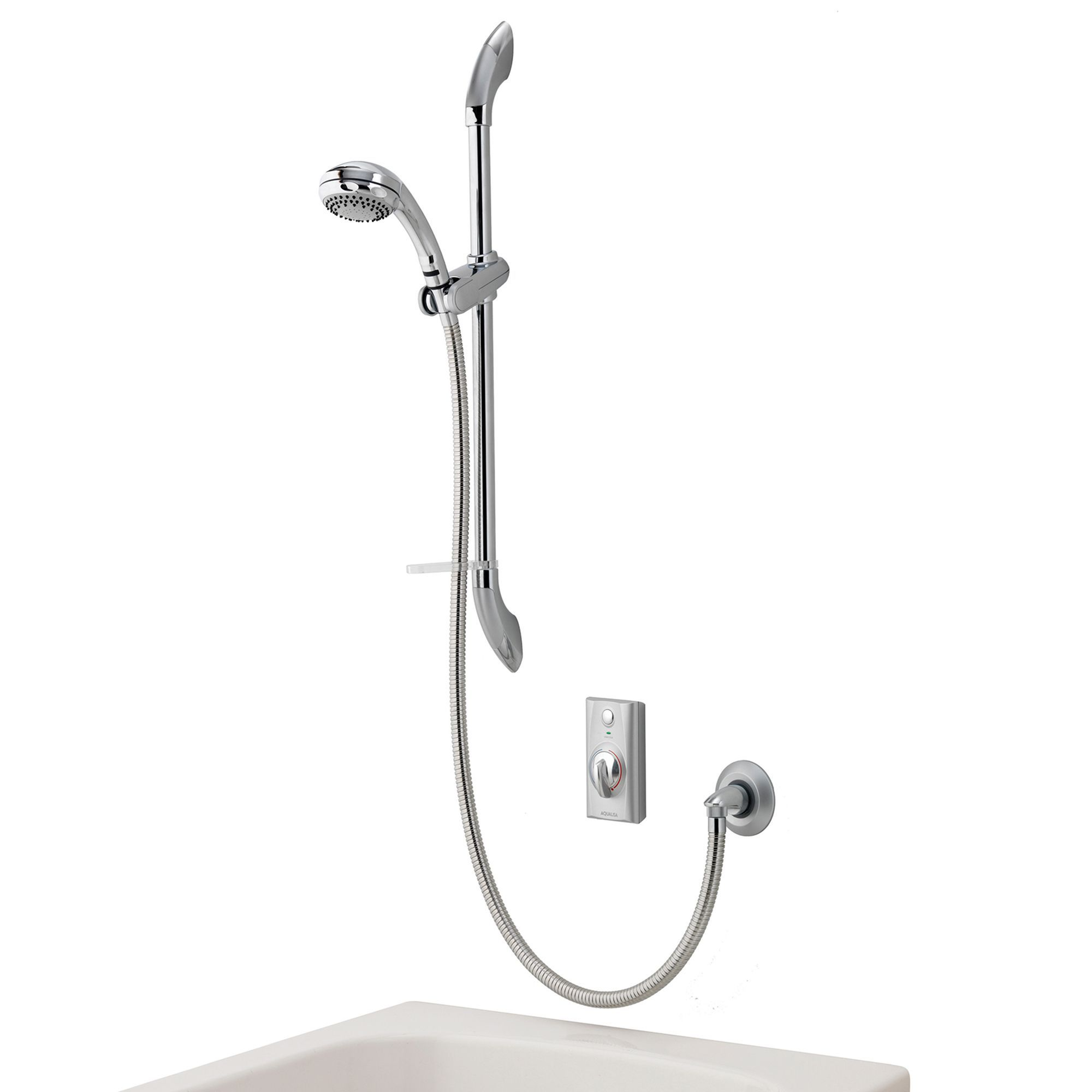 Aqualisa Visage Chrome effect Manual Digital shower