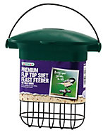 Gardman Green & black Plastic Bird feeder (H)170mm