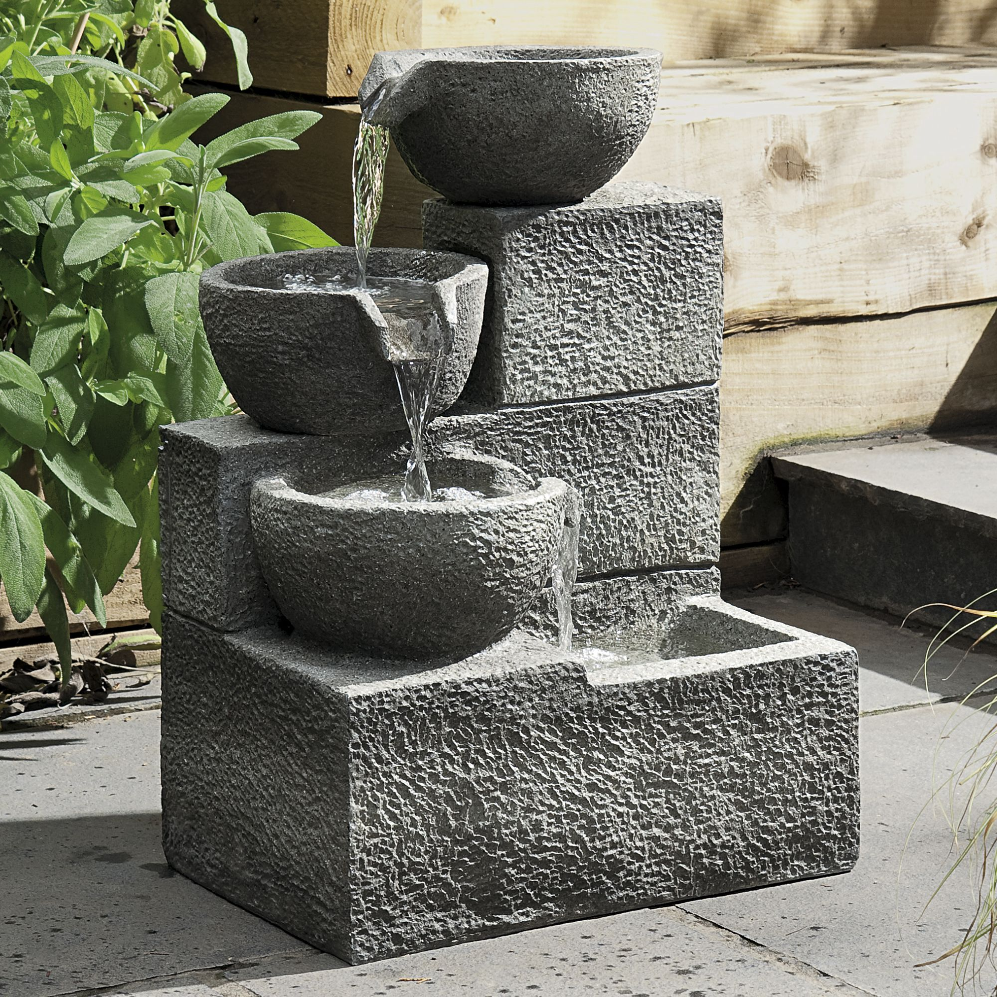 Gardman 3 Tier Cascade Water Feature Departments Diy