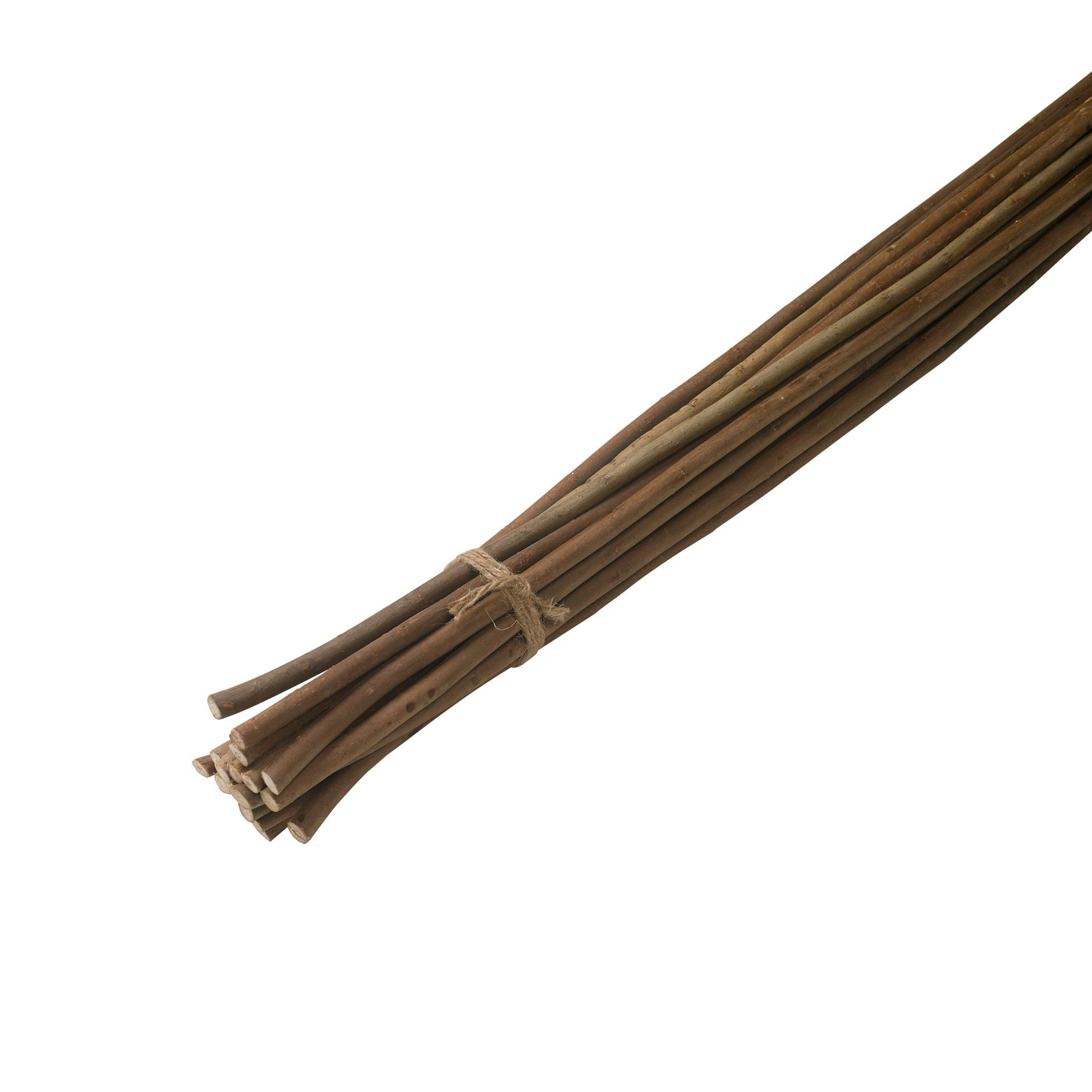 Gardman willow pea sticks l 1200mm pack of 20 for Joint fenetre bois
