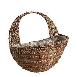 Gardman Sisal Rope & fern Hanging basket 406.4