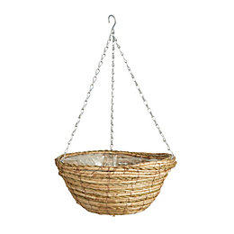 Gardman Two tone rope Hanging basket 355.6 mm