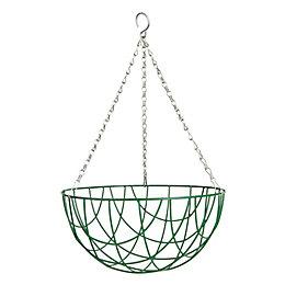 Gardman Basic Green Hanging basket 304.8 mm