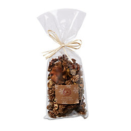 Gold Vanilla Spice Dried Flowers Potpourri