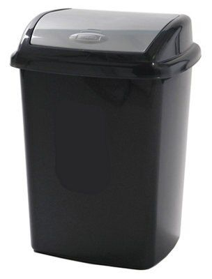 Black Kitchen Rubbish Bins