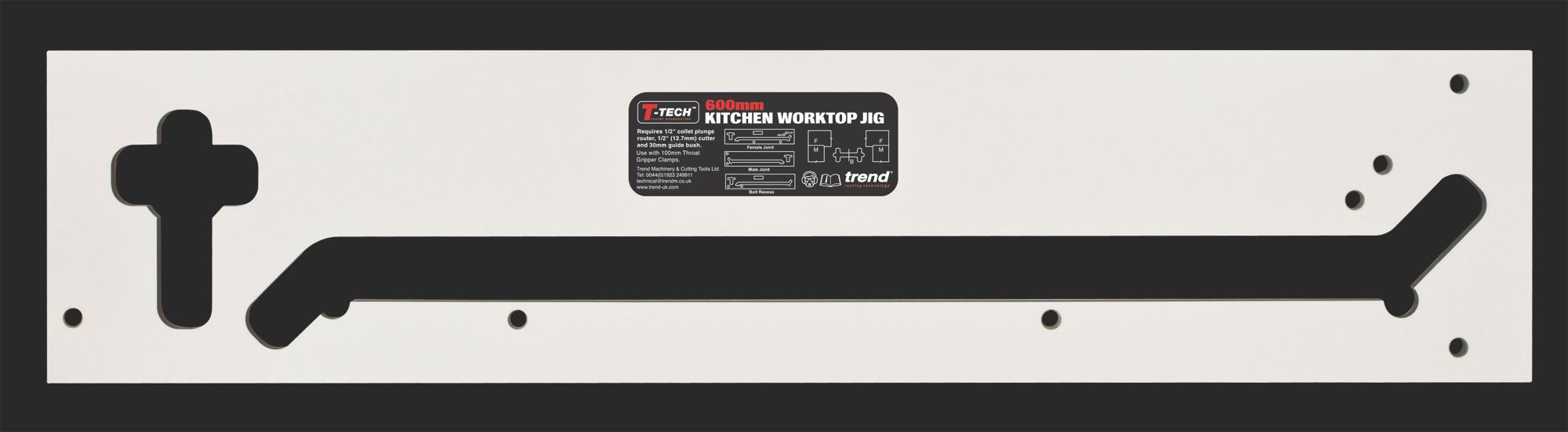 Trend Worktop Jig (W)370mm (L)1.07m | Departments | DIY at B&Q